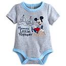 Body Mickey Mouse bleu pour bébé