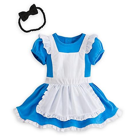 Body déguisement pour bébé Alice au Pays des Merveilles-9-12 mois