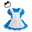 Body déguisement pour bébé Alice au Pays des Merveilles