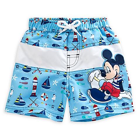 Short de bain Mickey Mouse pour bébés-18-24 mois