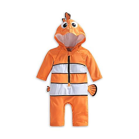 Combinaison anti-UV à capuche Le Monde de Nemo pour bébé-12-18 mois