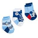3 paires de chaussettes Mickey Mouse pour bébé