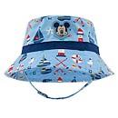 Chapeau de plage Mickey Mouse bleu pour bébé