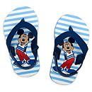 Tongs Mickey Mouse bleues pour bébé