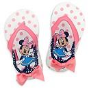 Tongs Minnie Mouse roses pour bébé