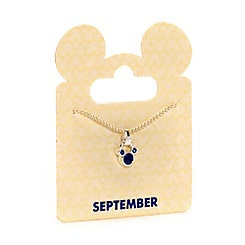 Collier à pendentif Mickey Mouse Septembre
