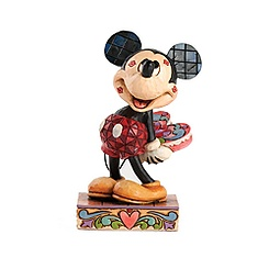 Figurine Mickey Mouse Kisses de Jim Shore Disney Traditions