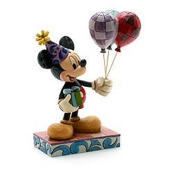 Figurine Mickey Mouse avec ballons Disney Traditions
