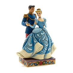 Figurine de Cendrillon et du Prince Charmant Disney Traditions