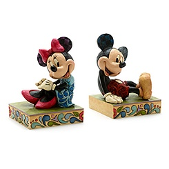 Serre-livres Mickey et Minnie Mouse Disney Traditions