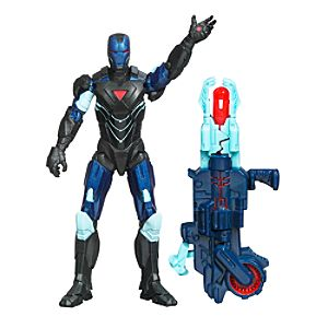 Figurine Iron Man Reactron Armour 9,5 cm Marvel The Avengers