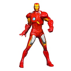 Figurine Iron Man Mighty Battlers Repulsor Battling 15.25 cm Marvel Avengers