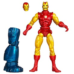 Figurine articulée Iron Man Marvel Legends, Classic Iron Man, 15 cm