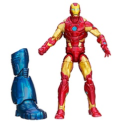 Figurine articulée Iron Man Marvel Legends, Heroic Age Iron Man, 15 cm