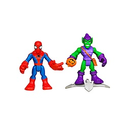 Ensemble de figurines Spider-Man et le Bouffon Vert