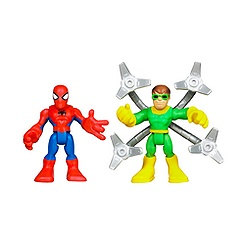 Ensemble de figurines Spider-Man et Doc Ock