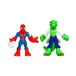 Ensemble de figurines Spider-Man et Lizard