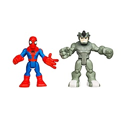 Ensemble de figurines Spider-Man et Rhino