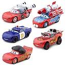 Ensemble de 5 modèles miniatures McQueen-O-Rama Disney Pixar Cars