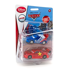 Set de figurines Raoul ÇaRoule et Long Ge Disney Pixar Cars