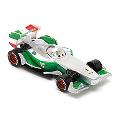Miniature Francesco Bernoulli Disney Pixar Cars Silver Racer Series