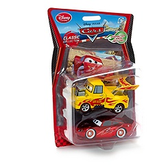 Voitures miniatures Martin Funny Car et Flash McQueen Disney Pixar Cars
