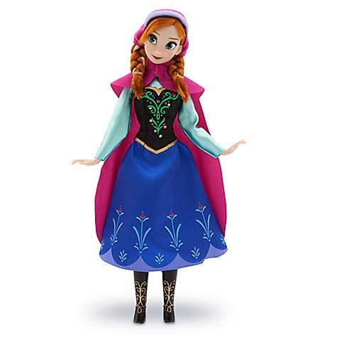 Poupée classique Anna de La Reine des Neiges