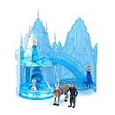 Château de glace musical Elsa de La Reine des Neiges