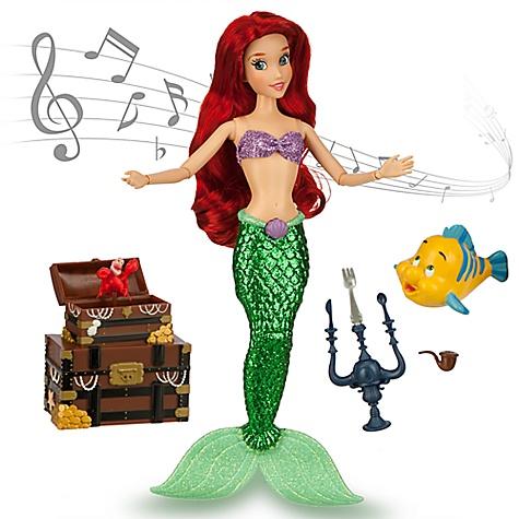 Poupée chantante Ariel