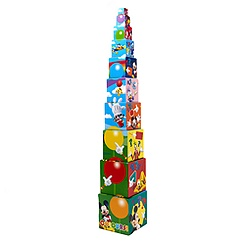 Puzzle de cubes empilables Mickey Mouse
