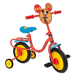 Vélo d'apprentissage Mickey Mouse 30 cm