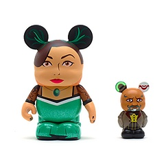 2 Figurines Vinylmation Le Monde Fantastique d'Oz, Evanora et Knuck