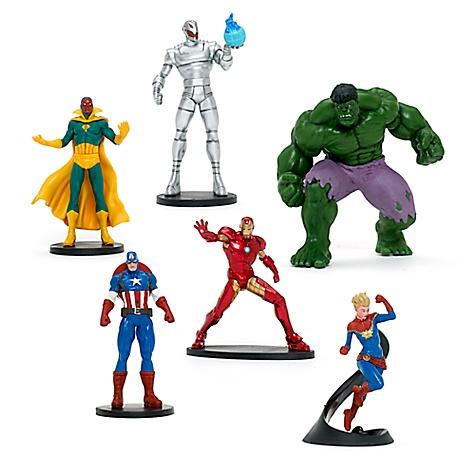 Ensemble de figurines Avengers