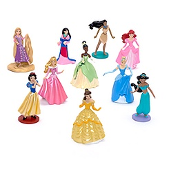 Ensemble de figurines de luxe Princesses Disney