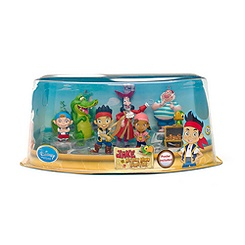 Ensemble de figurines Jake et les Pirates du Pays Imaginaire.