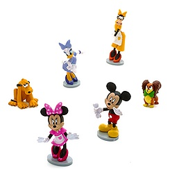 Ensemble de figurines animalerie Minnie Mouse