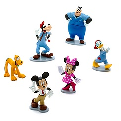 Ensemble de figurines lavage auto Mickey Mouse