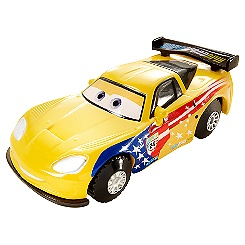 Voiture cascadeuse Jeff Corvette Disney Pixar Cars