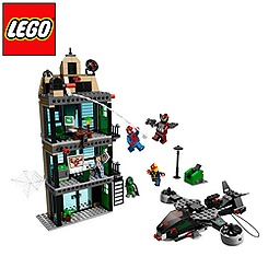 Jeu de construction Spider-Man 76005 de LEGO - L'attaque du Daily Bugle