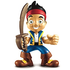 Figurine parlante Jake et les pirates