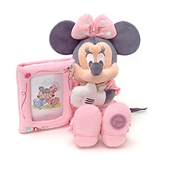 Cadre-photo en Peluche Minnie Mouse de 36 cm