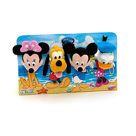 Coffret de mini peluches Maison de Mickey