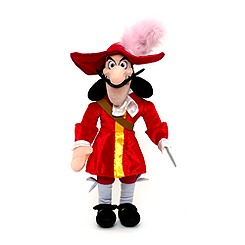 Peluche Capitaine Crochet de Jake et les Pirates du Pays Imaginaire 53 cm