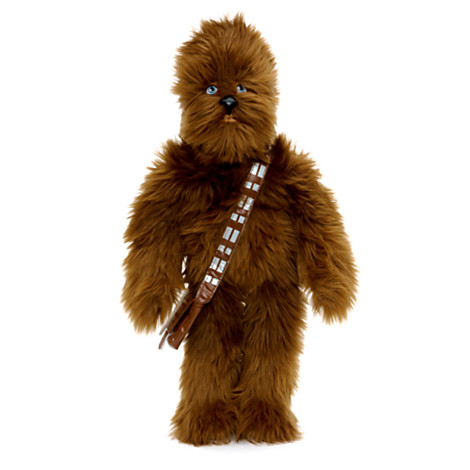 Peluche Chewbacca de taille moyenne