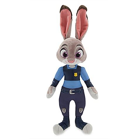 Poupée en peluche Officier Judy Hopps de Zootopie