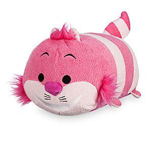 Peluche moyenne Tsum Tsum Le chat du Cheshire, Alice au Pays des Merveilles