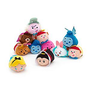 Collection de mini peluches Tsum Tsum Alice au Pays des Merveilles