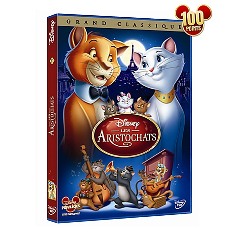 DVD Aristochats