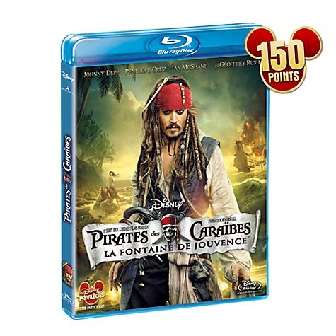 Blu-ray Pirates des Caraïbes 4: Fontaine de Jouvence