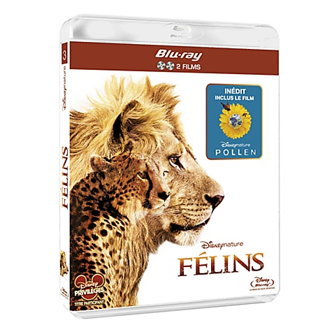 Blu-ray Disneynature Félins